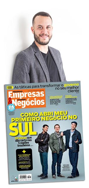 Fernando Freitas, fundador de Converta na Web